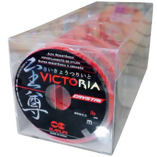 Linha Monofilamento Victoria Crystal Maruri 0,20mm 8lb/3,5kg - 100 Metros  - Life Pesca - Sua loja de Pesca, Camping e Lazer