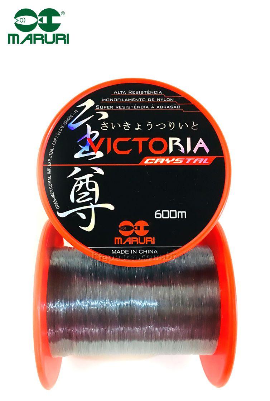 Linha Monofilamento Maruri Victoria 0,40mm 19,6lbs/9kg - 600 Metros