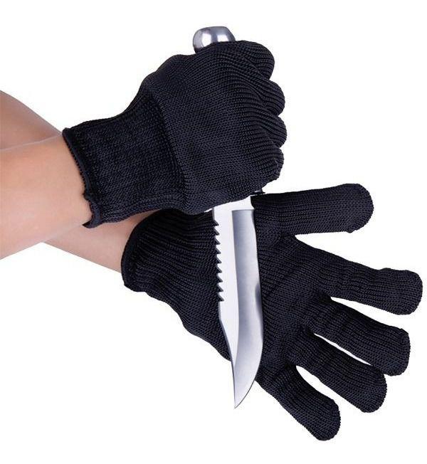 Luva Anti-corte Albatroz Proteção Malha Com Fios Aço Inox