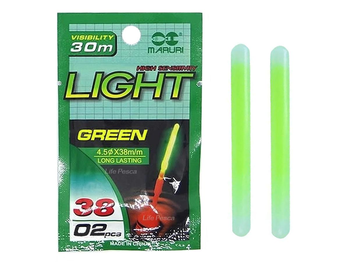 Luz Química Iluminador Maruri Light Stick - 4.5 X 38mm - 02 Peças