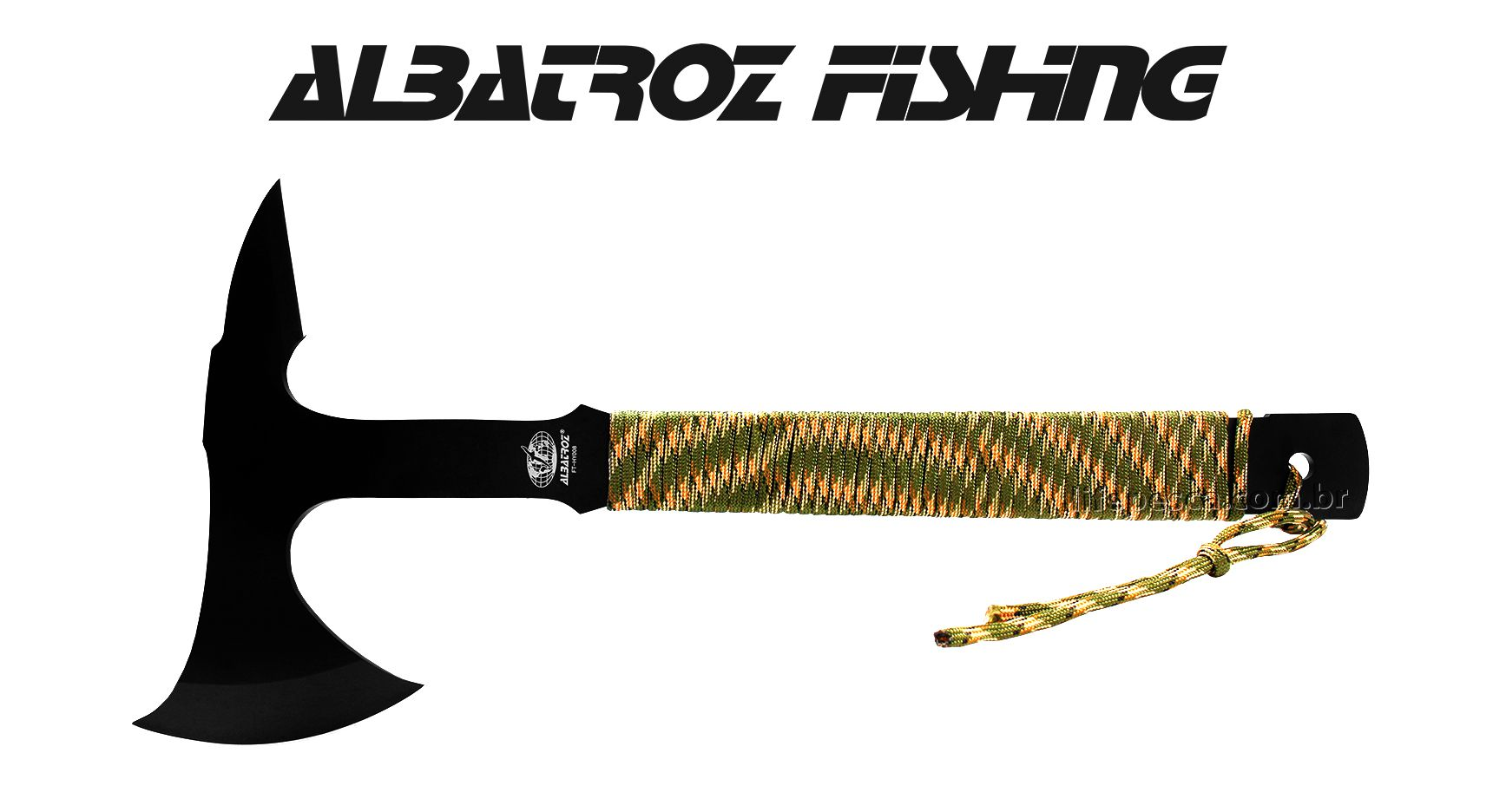 Machado Tático Albatroz Fishing FT-HY008 - com Bainha
