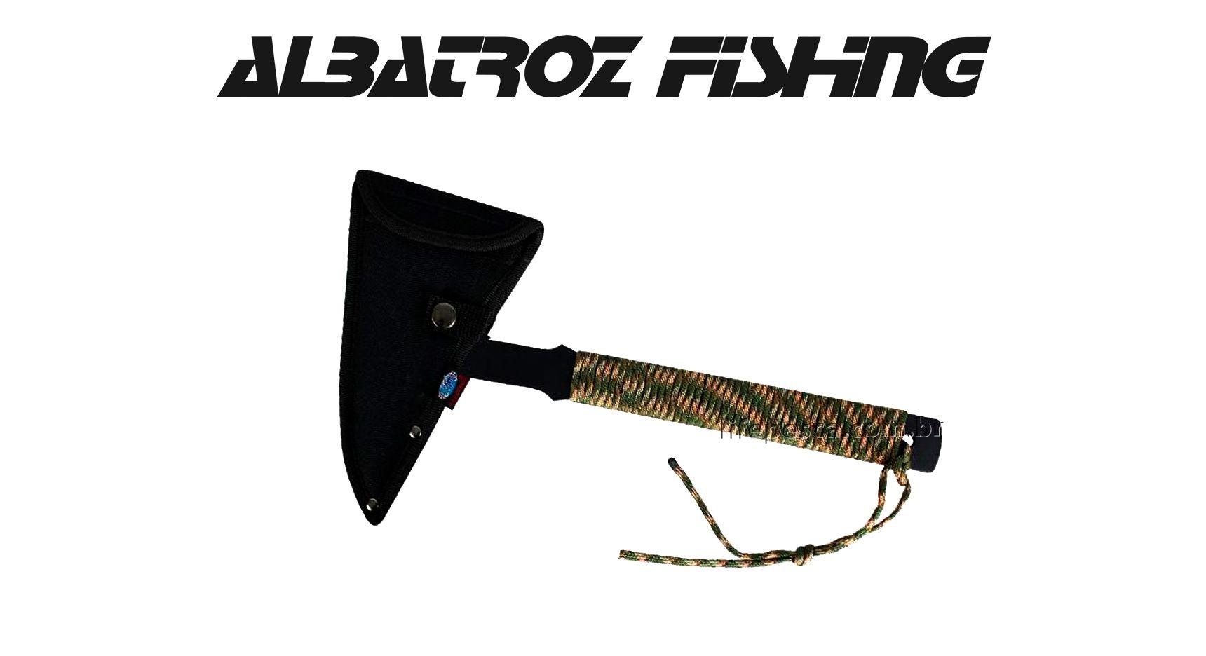 Machado Tático Albatroz Fishing FT-HY008 - com Bainha  - Life Pesca - Sua loja de Pesca, Camping e Lazer