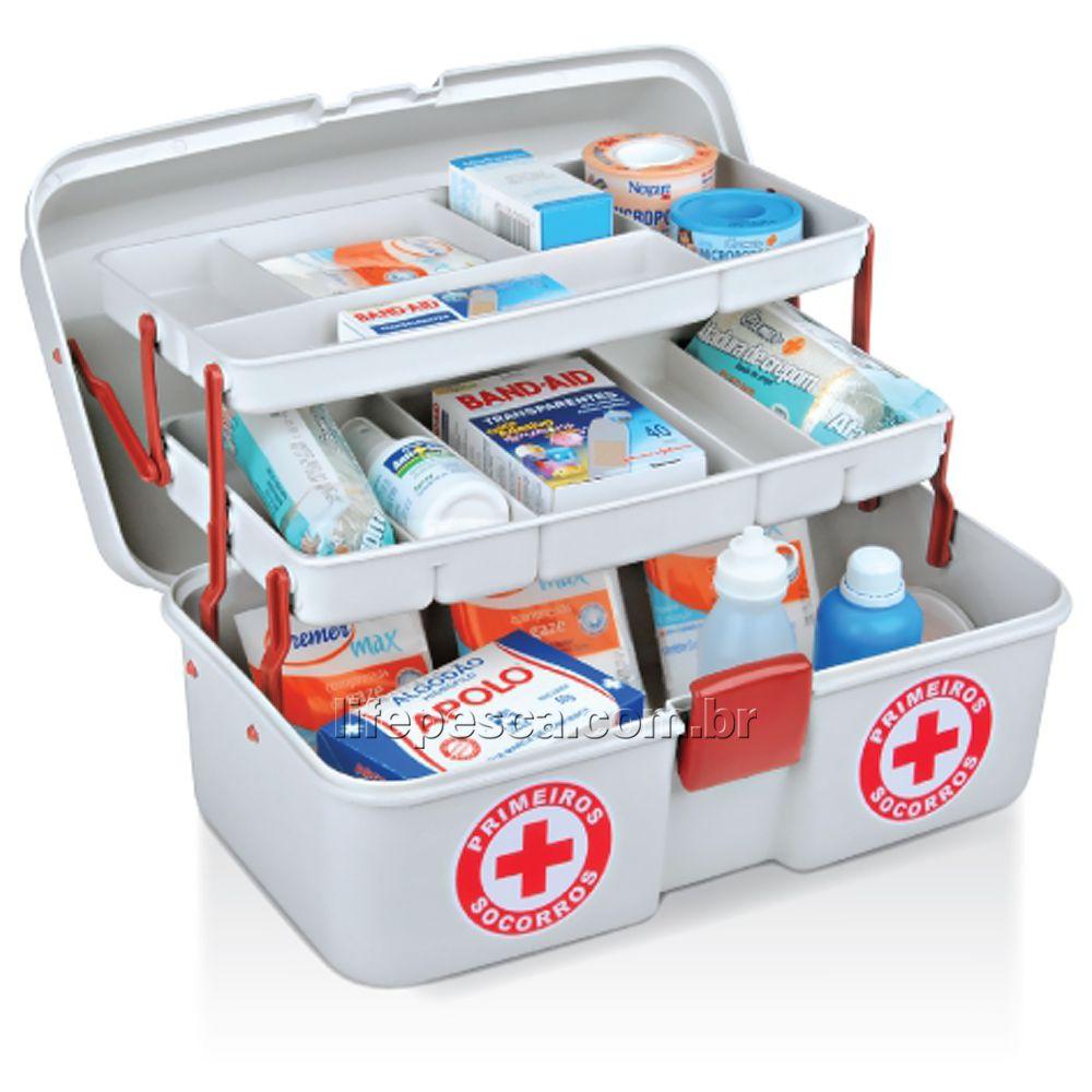 Caixa Para Primeiros Socorros Emergência Médica MPS - Arqplast