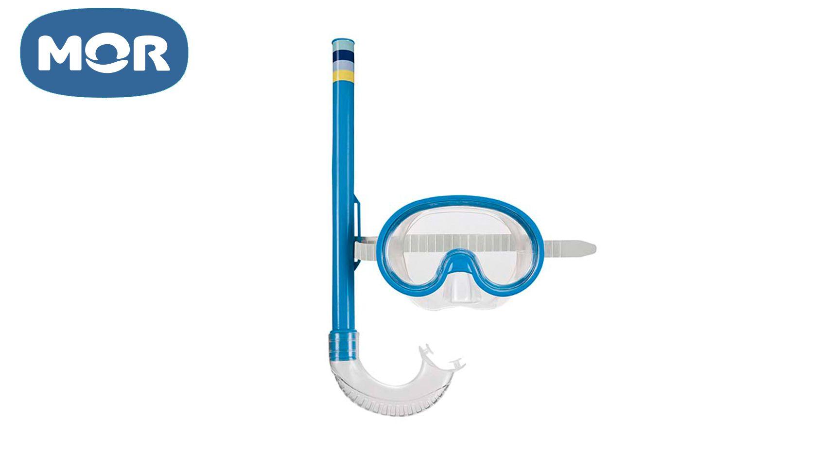Máscara Mergulho e Snorkel Infantil