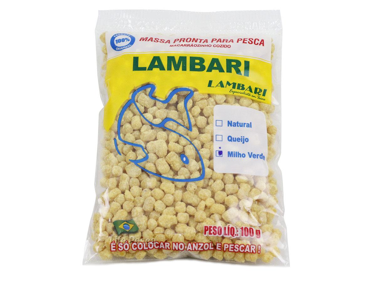 Massa Lambari P/ Pesca Pronta Lambari 100g - Vários Sabores