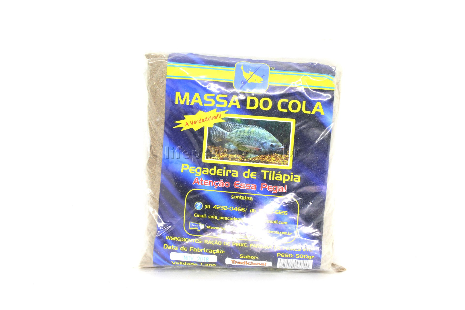 Massa Para Pesca Do Cola - Tilápia (500g)