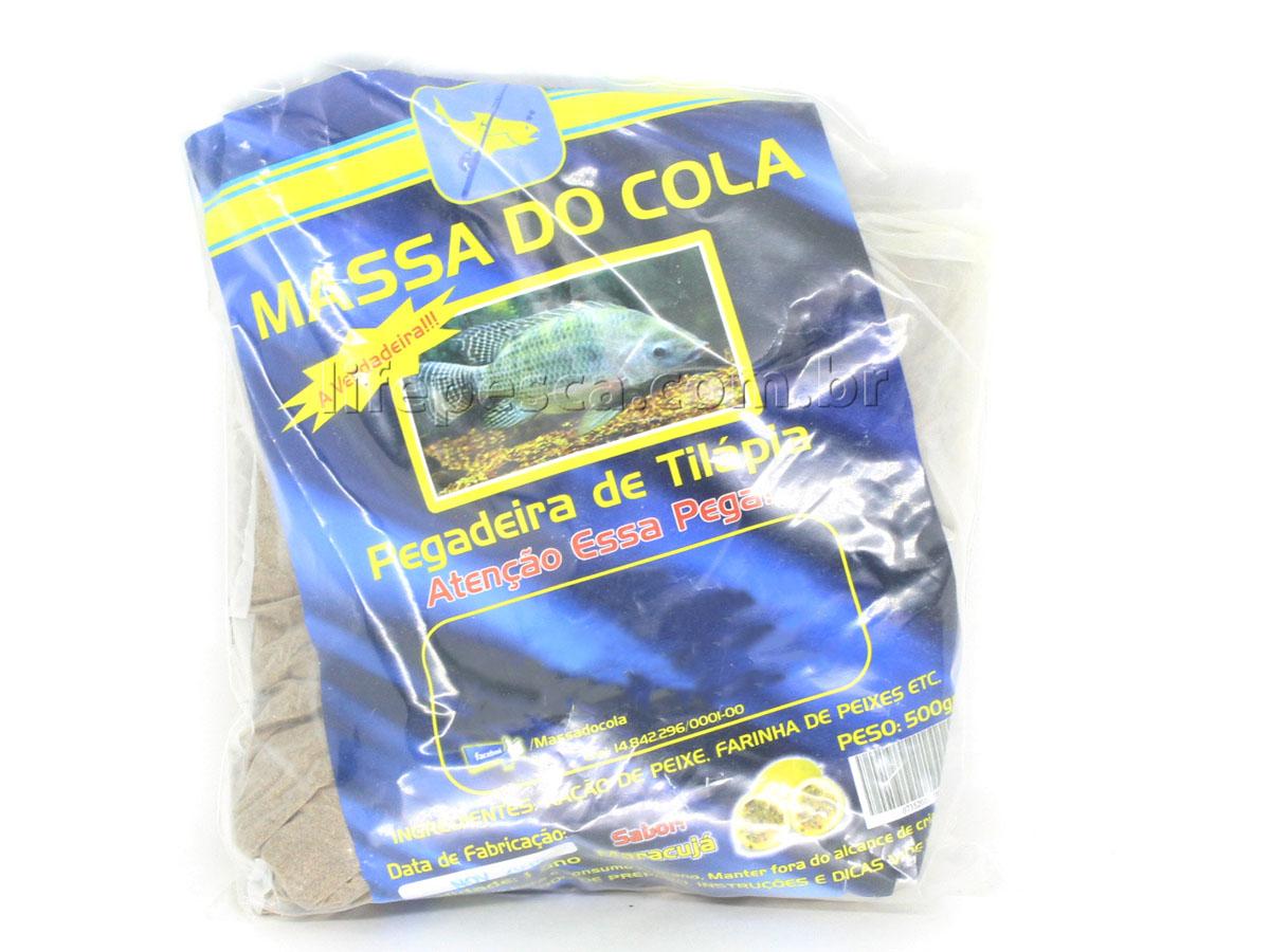 Massa Para Pesca Do Cola - Tilápia Maracujá (500g)
