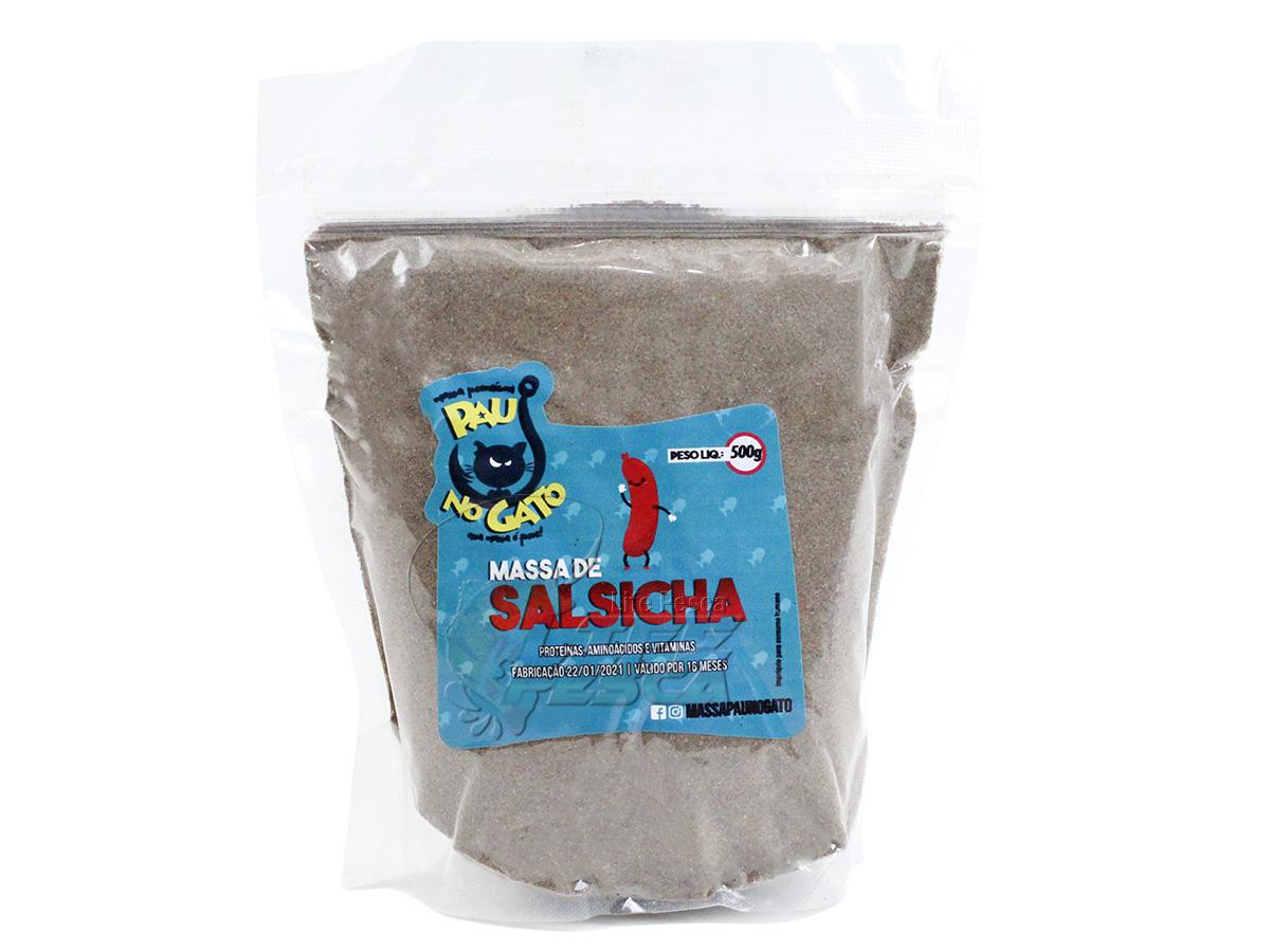 Massa Para Pesca Pau no Gato - Especial Salsicha 500g