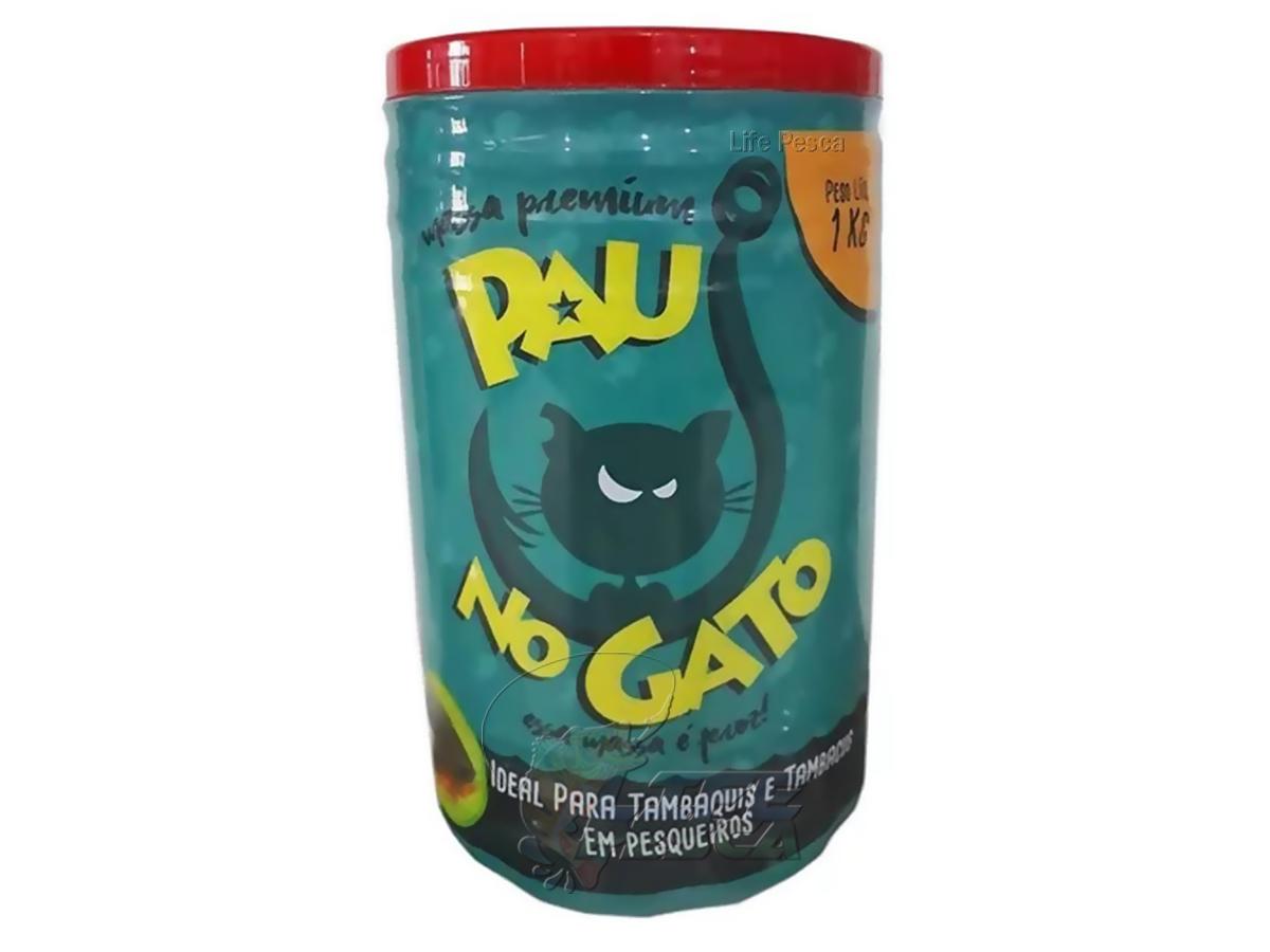 Massa Para Pesca Pau no Gato Premium - Tambaqui 1kg
