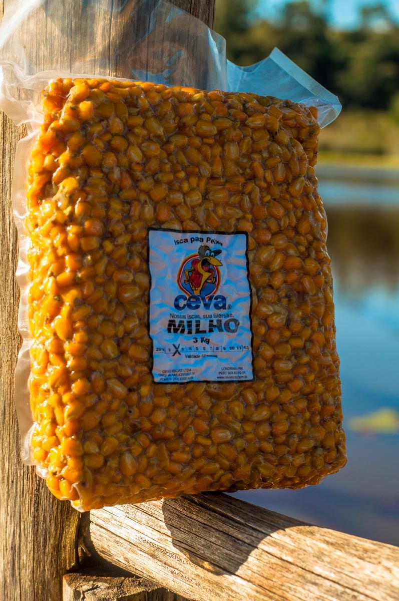 Milho em Conserva Para Pesca Ceva - 1kg