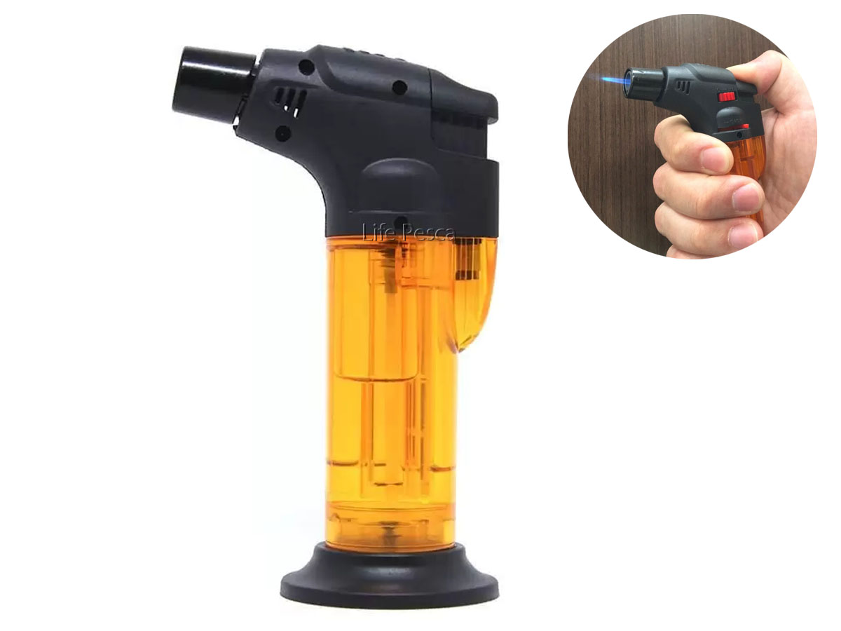 Mini Maçarico Shazam NTK - C/ regulagem de chama