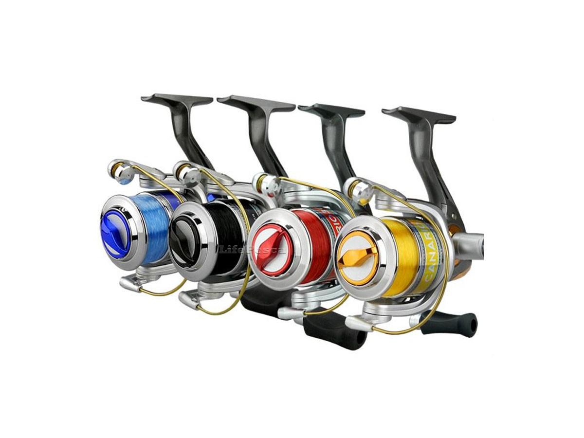 Molinete Albatroz Fishing Canário 30 - 3 Rolamentos Com Linha  - Life Pesca - Sua loja de Pesca, Camping e Lazer