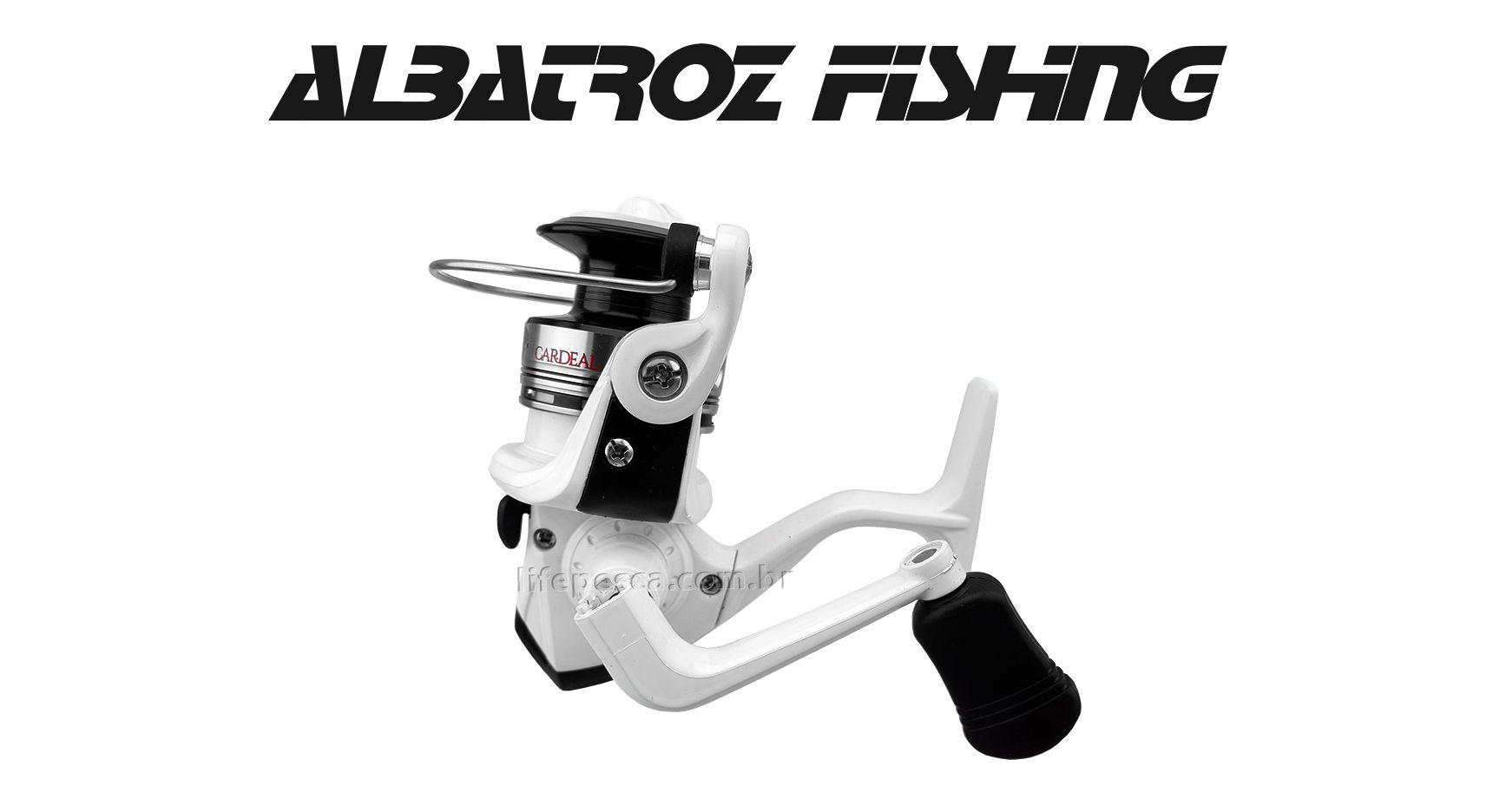 Molinete Albatroz Cardeal Ultralight - 3 Rolamentos  - Life Pesca - Sua loja de Pesca, Camping e Lazer