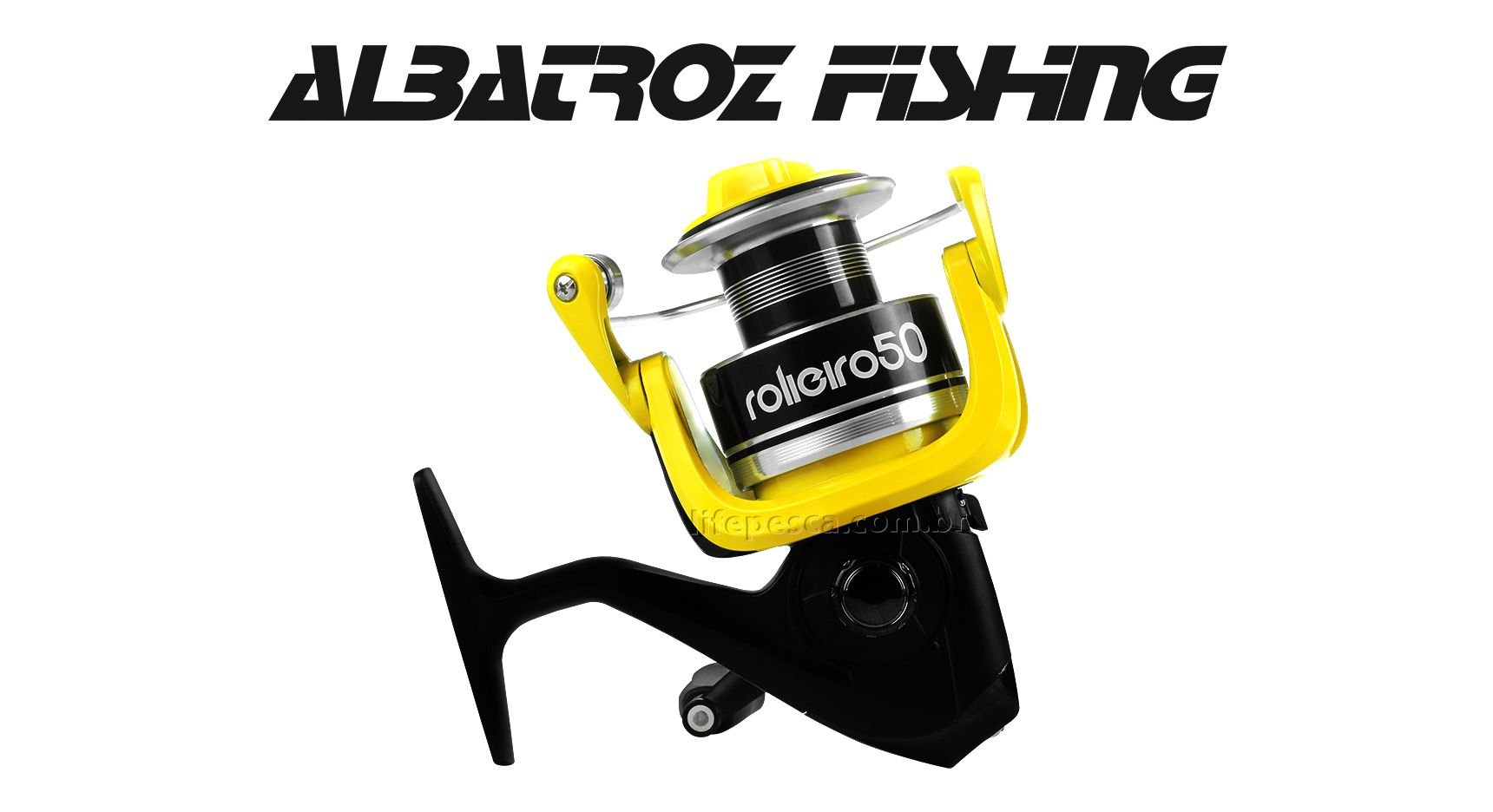 Molinete Albatroz Fishing New Rolieiro 30 - 4 Rolamentos