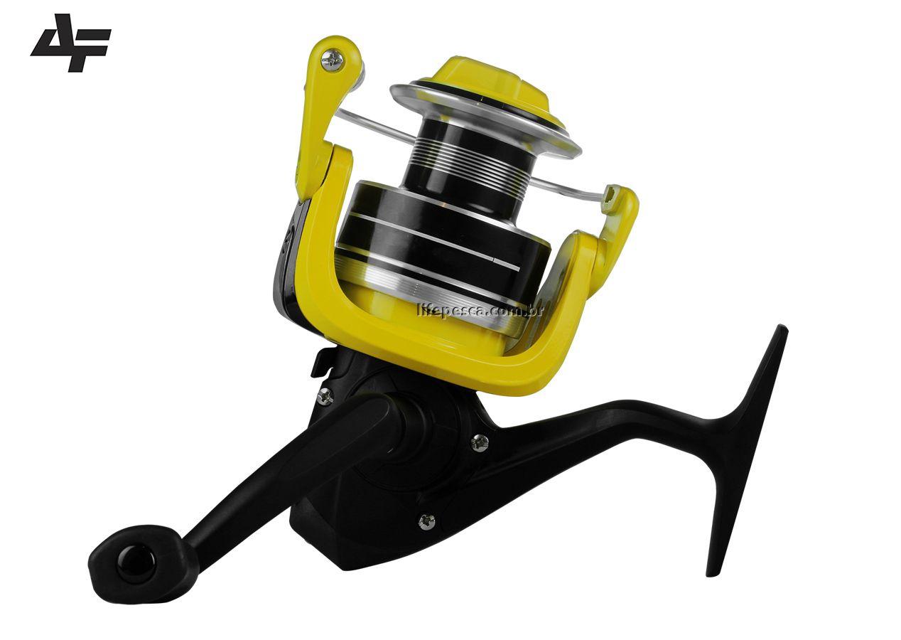 Molinete Albatroz Fishing New Rolieiro 60 - 4 Rolamentos