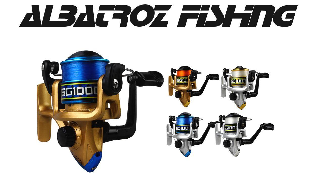 Molinete Albatroz SG1000 - Pesca Light Recolhimento: 5.2:1