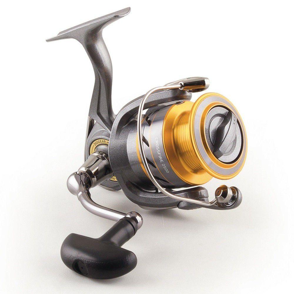 Molinete Daiwa CrossFire 2500 - 3 Rolamentos  - Life Pesca - Sua loja de Pesca, Camping e Lazer
