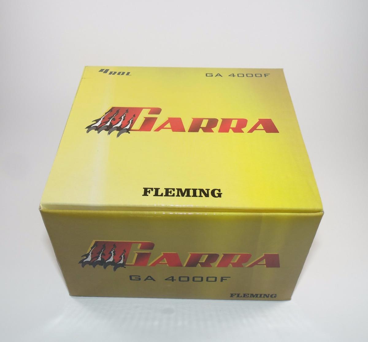 Molinete Fleming Garra 3000 4000 5000 e 6000 - 4 Rolamentos  - Life Pesca - Sua loja de Pesca, Camping e Lazer