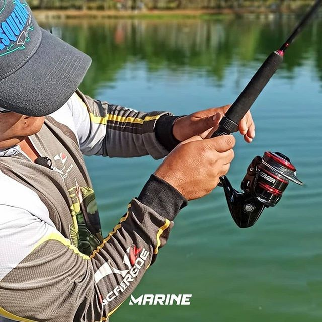 Molinete Marine Sports Venza 4000 - 6 Rolamentos  - Life Pesca - Sua loja de Pesca, Camping e Lazer