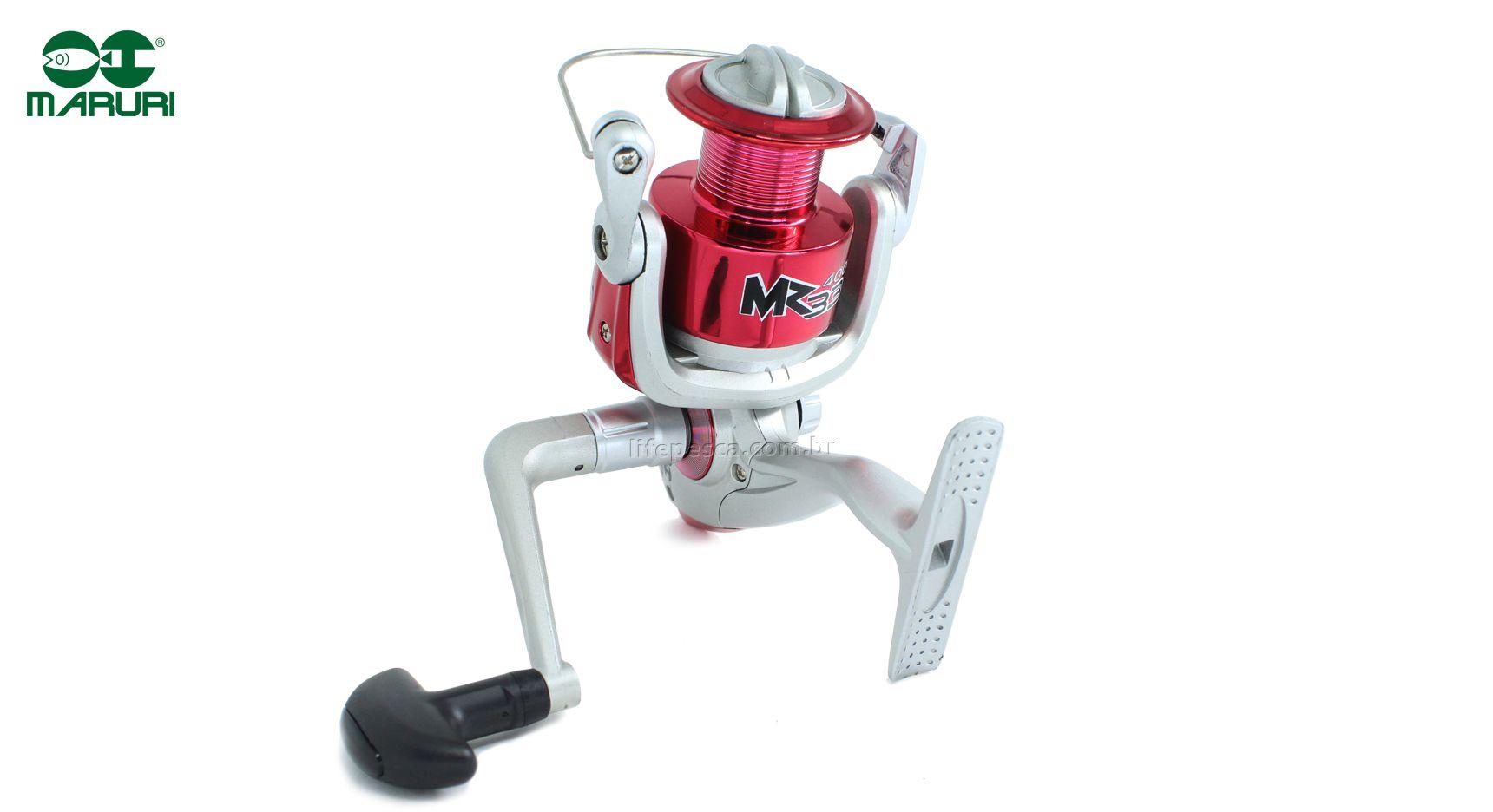 Molinete Maruri MR33 2000 - 3 Rolamentos  - Life Pesca - Sua loja de Pesca, Camping e Lazer