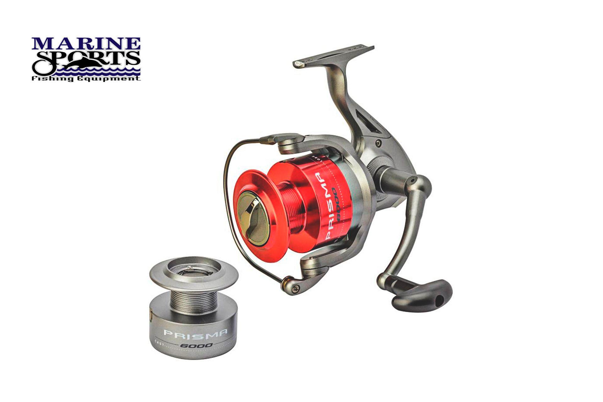 Molinete Prisma 5000 - 5 Rolamentos - Marine Sports  - Life Pesca - Sua loja de Pesca, Camping e Lazer