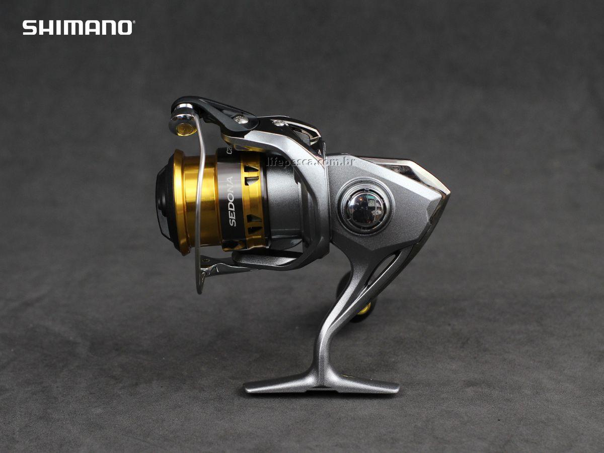 Molinete Shimano Sedona FI C2000 HGS  - Life Pesca - Sua loja de Pesca, Camping e Lazer