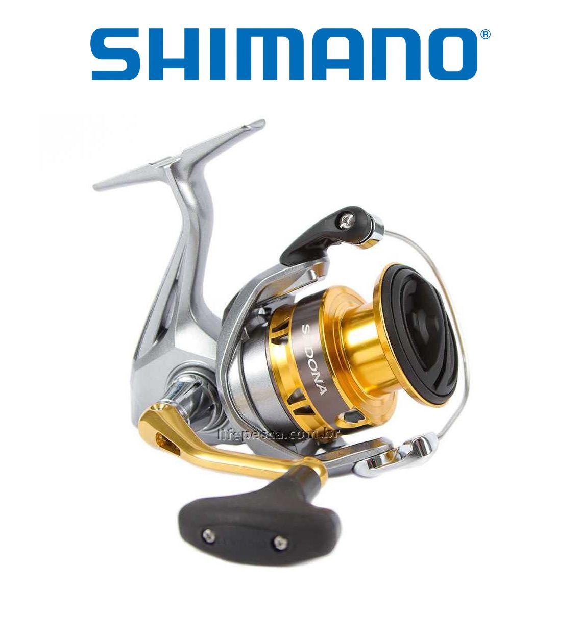 Molinete Shimano Sedona FI C3000 HG  - Life Pesca - Sua loja de Pesca, Camping e Lazer