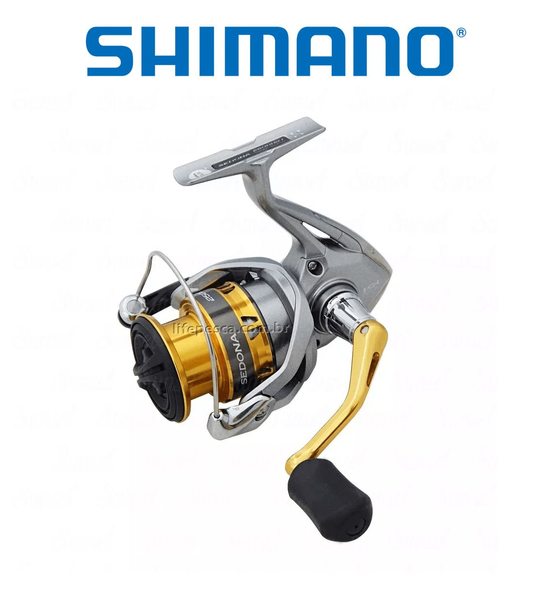 Molinete Shimano Sedona FI C5000 XG  - Life Pesca - Sua loja de Pesca, Camping e Lazer