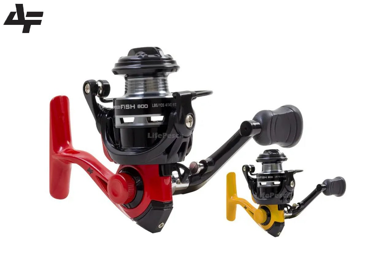 Molinete Ultralight Albatroz Fishing SpeedFish 800 - 4 Rolamentos
