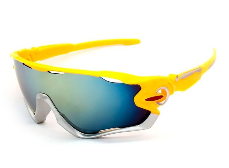 Óculos De Sol Esportivo UV 400 Ciclismo Corrida Vôlei - Várias Cores