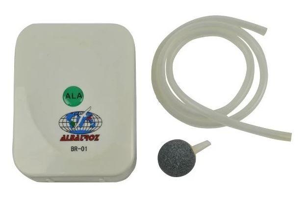 Oxigenador BR-01 P/ Iscas Vivas - Albatroz Fishing
