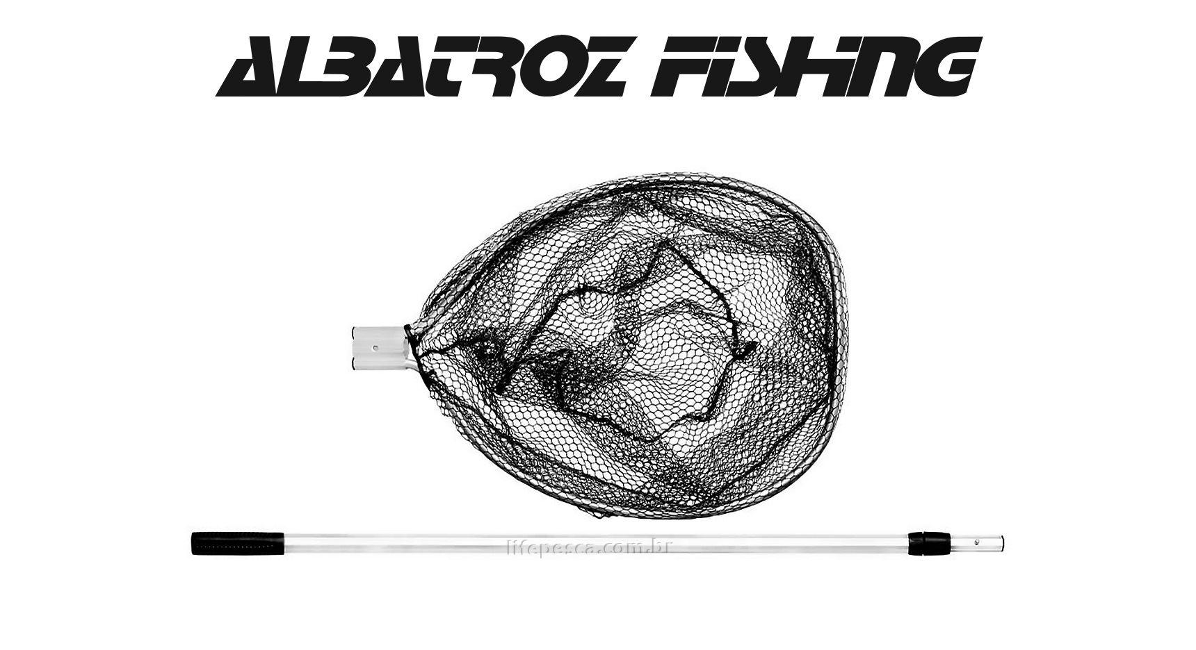 Passaguá Para Pesca em Alumínio Retrátil 80cm até 150cm - Albatroz Fishing - FT4655JW