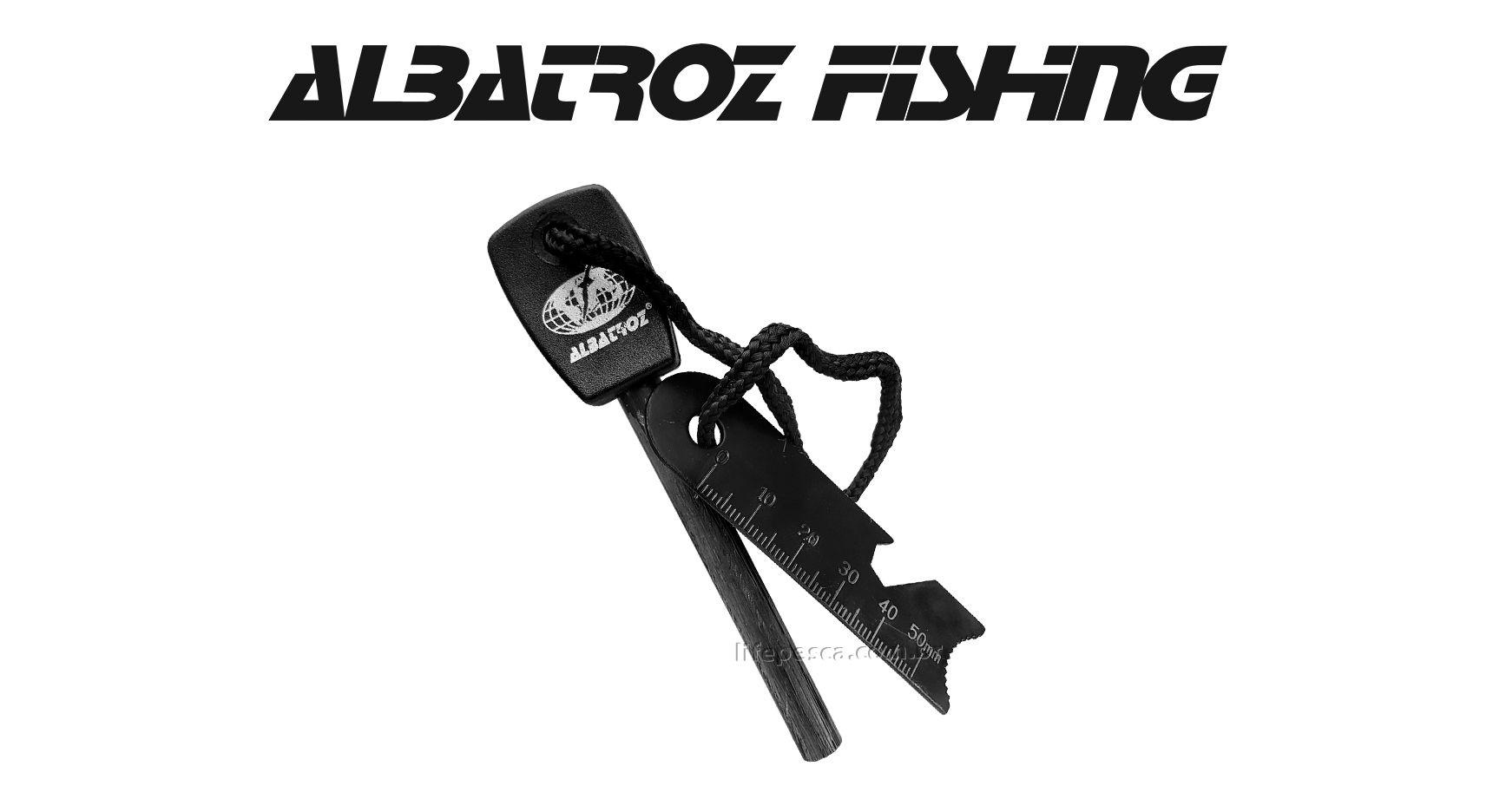 Pederneira Iniciador De Fogo Magnesio Grande 10cm Pedra - Albatroz Fishing LM-3Q  - Life Pesca - Sua loja de Pesca, Camping e Lazer