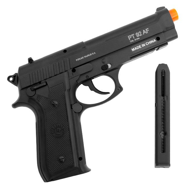 Pistola de Airsoft A Gas CO2 PT92 GNB 6mm - Cybergun