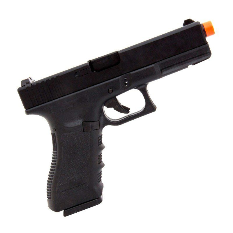 Pistola de Airsoft a Gás GBB Green Gás Glock R17 Black Blowback 6mm - Army