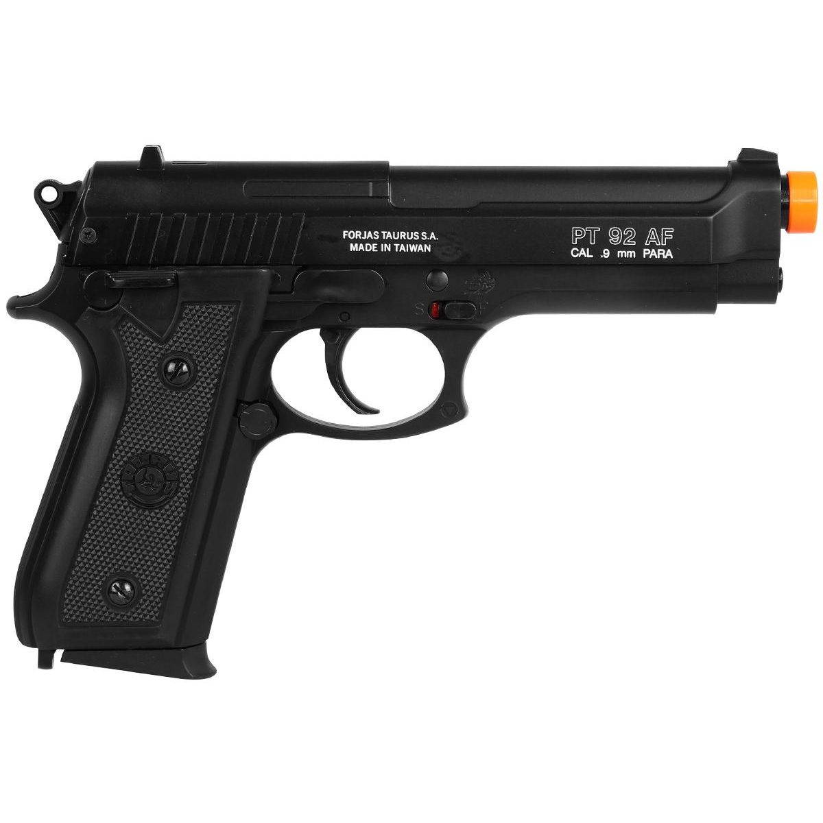 Pistola de Airsoft Spring Taurus PT92 Slide Metal 6mm - Cybergun
