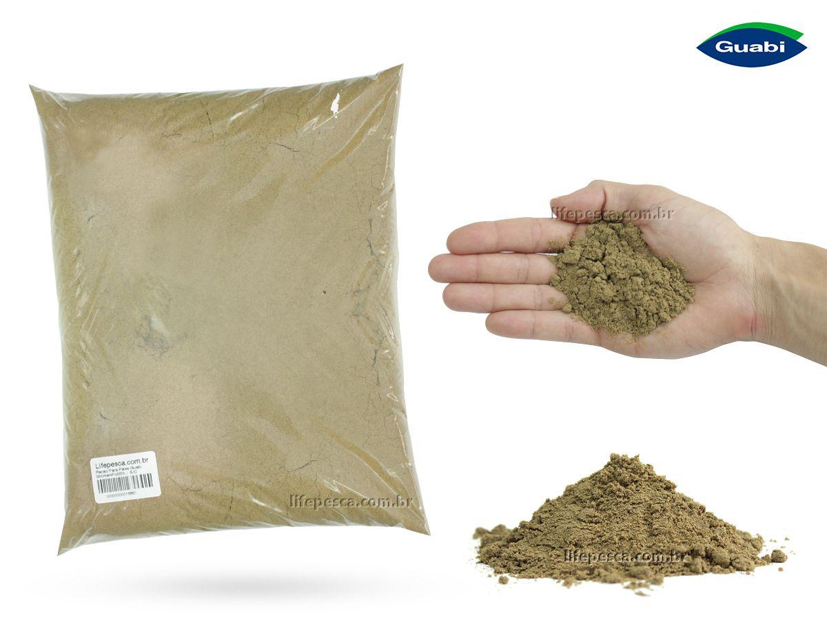 Ração Para Peixe Guabitech Mirim em Pó 55% - 5kg