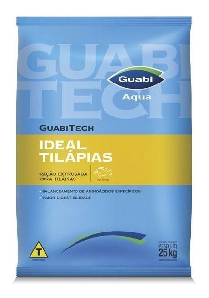 Ração Para Peixe GuabiTech Tilápias 32% - 25kg