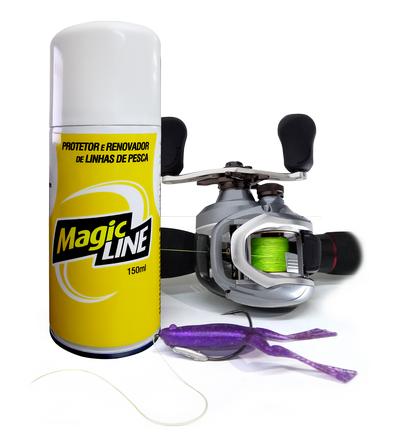 Renovador de Linhas de Pesca - Magic Line - Monster 3X  - Life Pesca - Sua loja de Pesca, Camping e Lazer
