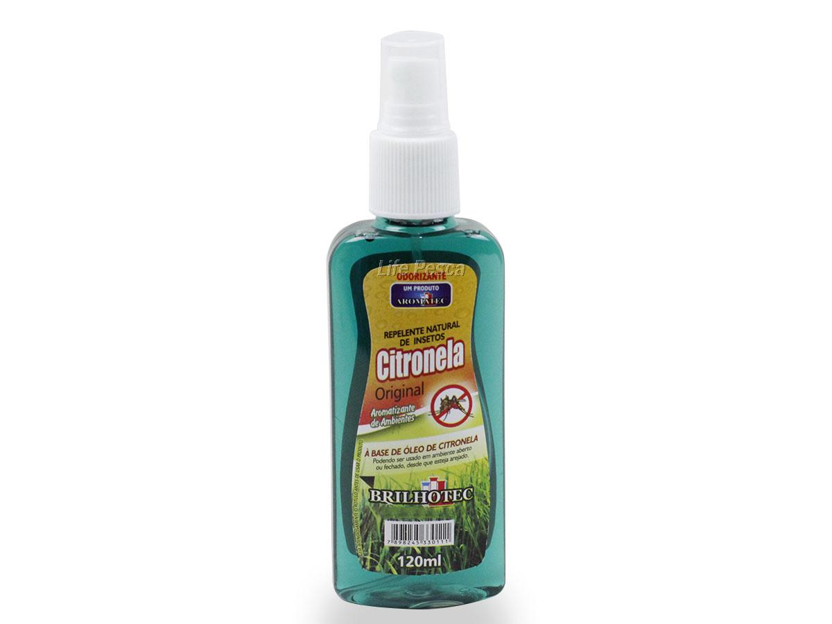 Repelente Spray à Base de Óleo Citronela Aromatec - 120ml