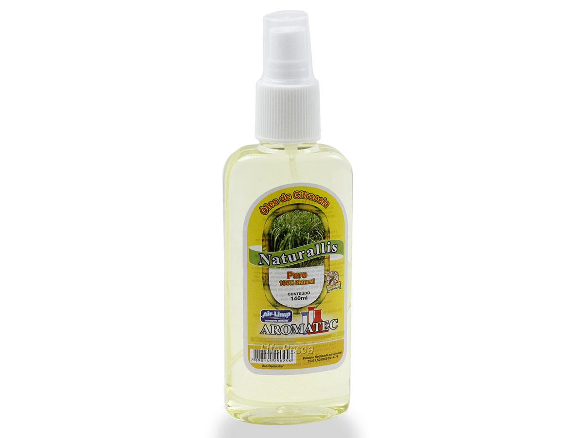 Repelente Spray Citronela Puro Aromatec - 140ml
