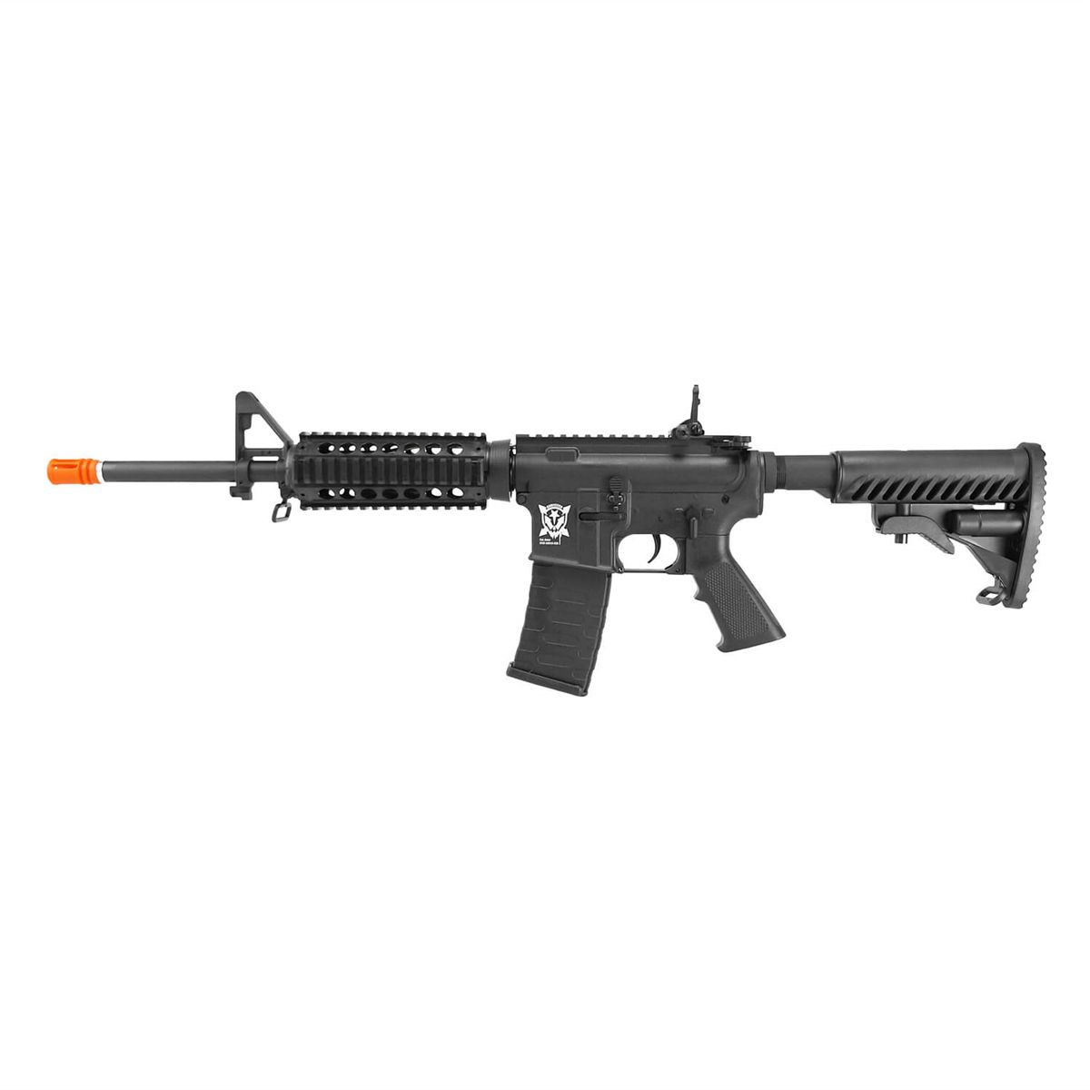 Rifle Airsoft Elétrico AEG M4 RIS Kompetitor Blowback 6mm - Aps Conception
