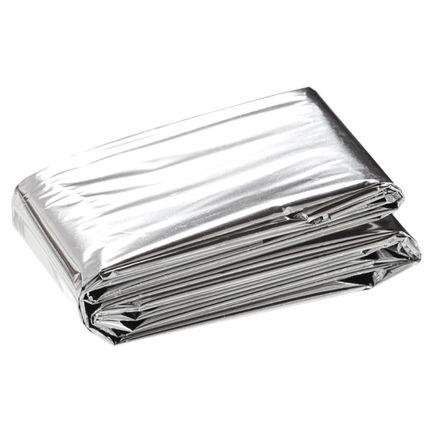Saco de Dormir de Emergência de Alumínio Prata - Nautika