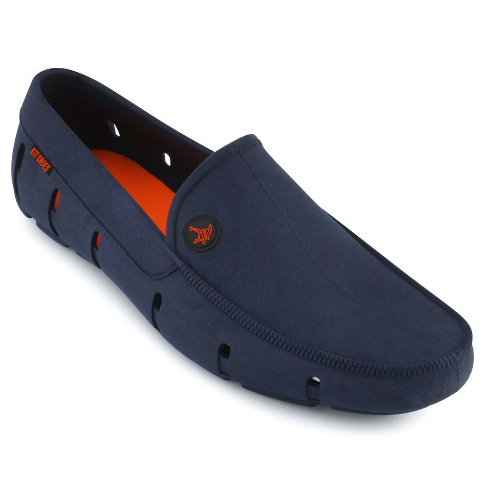 Sapatilha Aquática Mocassim Kit Shoes - Azul Marinho