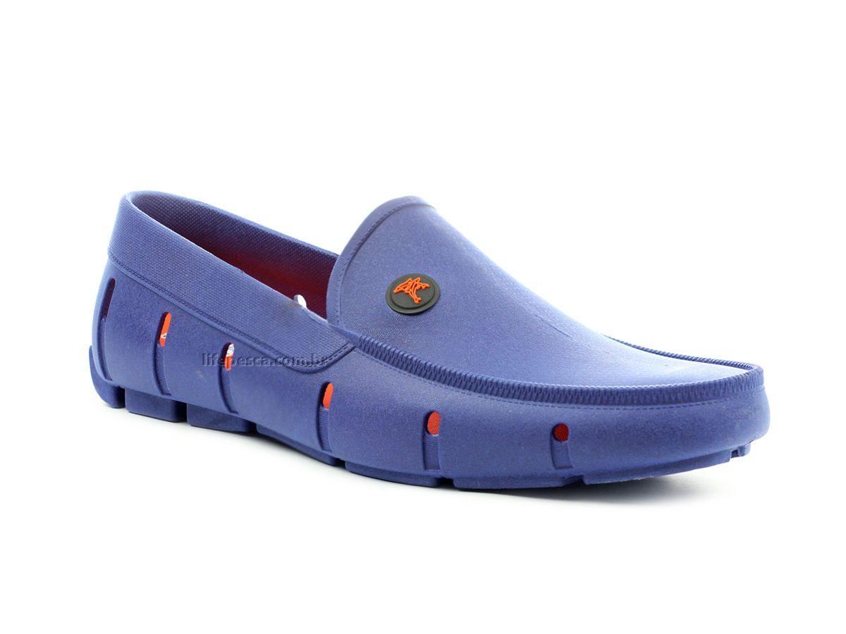 Sapatilha Aquática Mocassim Kit Shoes - Azul Royal