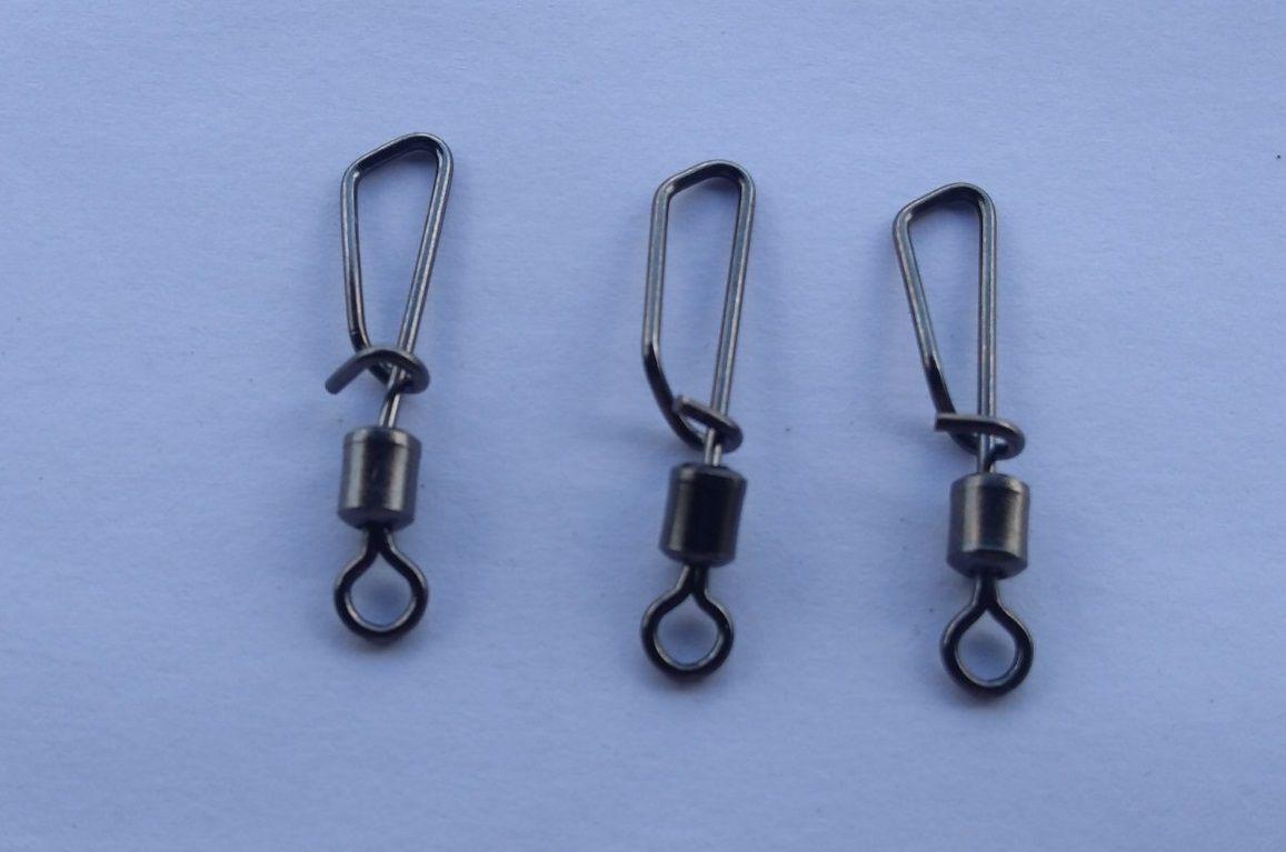 Snap Giratório Maruri Nº 1 (3,2cm) Black Nickel - 10 Peças  - Life Pesca - Sua loja de Pesca, Camping e Lazer