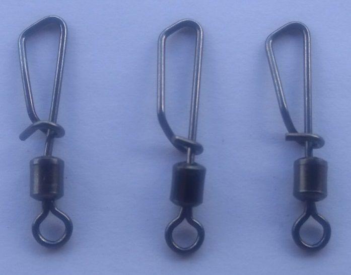 Snap Giratório Maruri Nº 2/0 (4,0cm) Black Nickel - 10 Peças  - Life Pesca - Sua loja de Pesca, Camping e Lazer