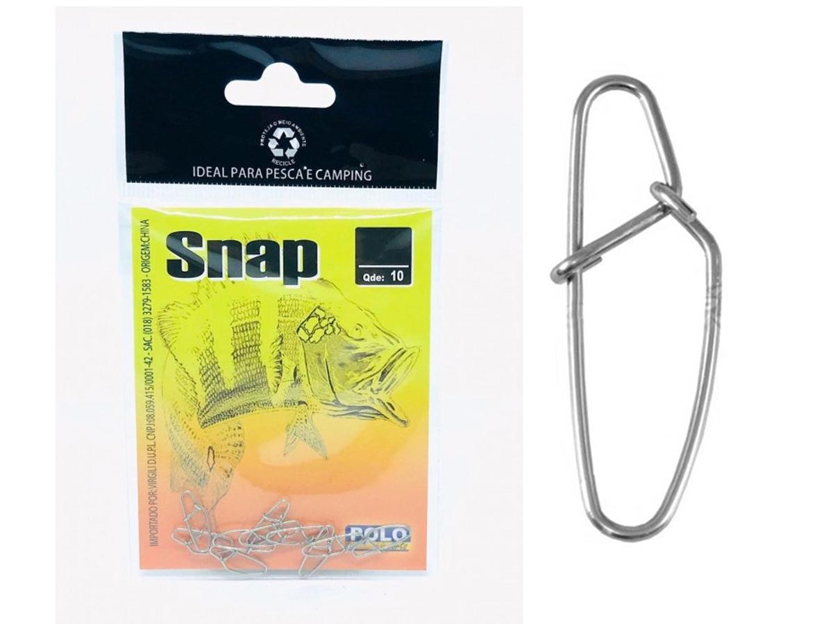 Snap Xingu Aço Inox N 1 - Cartela 10un