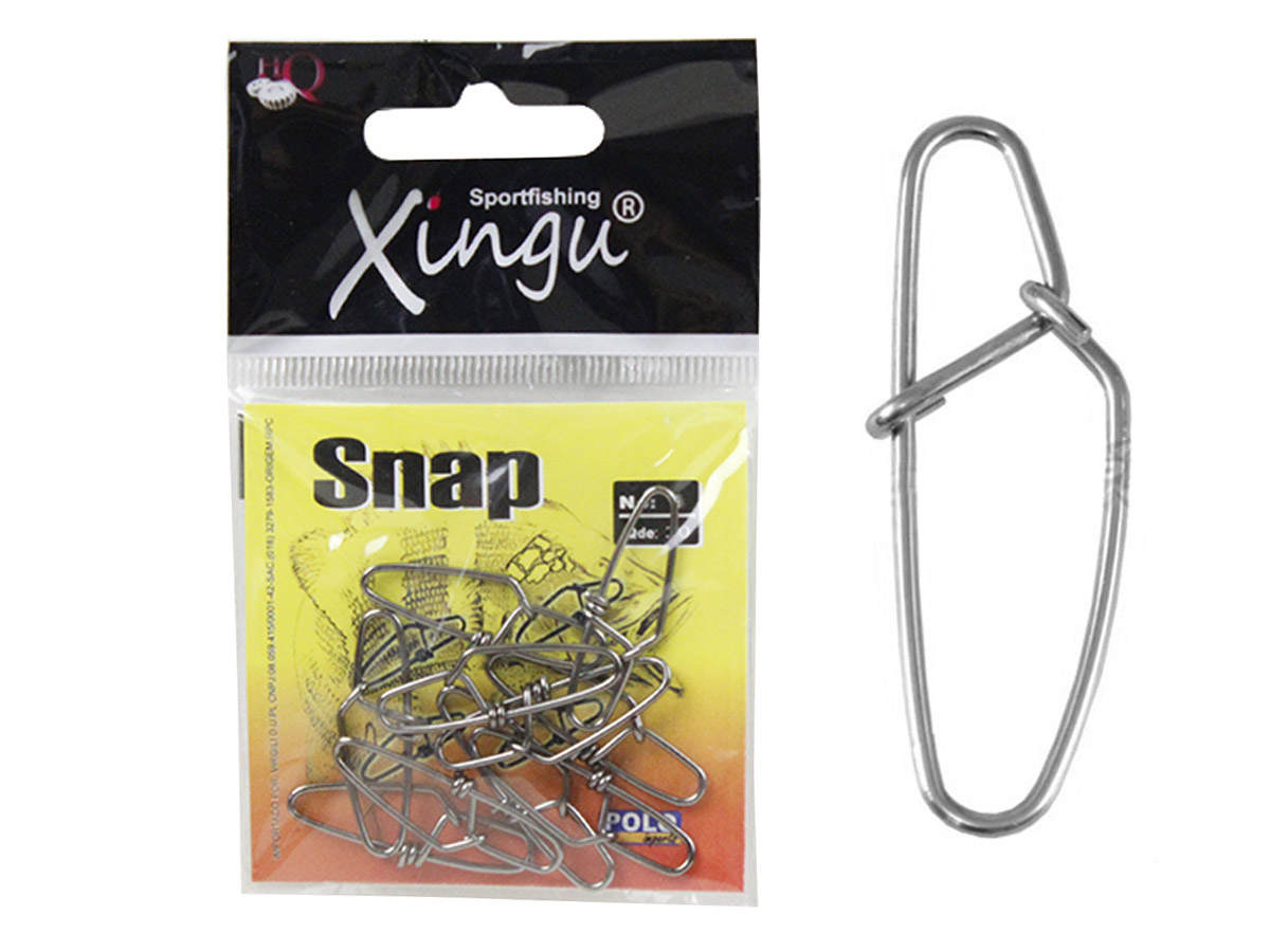Snap Aço Inox Xingu Nº 2 - 10 Peças