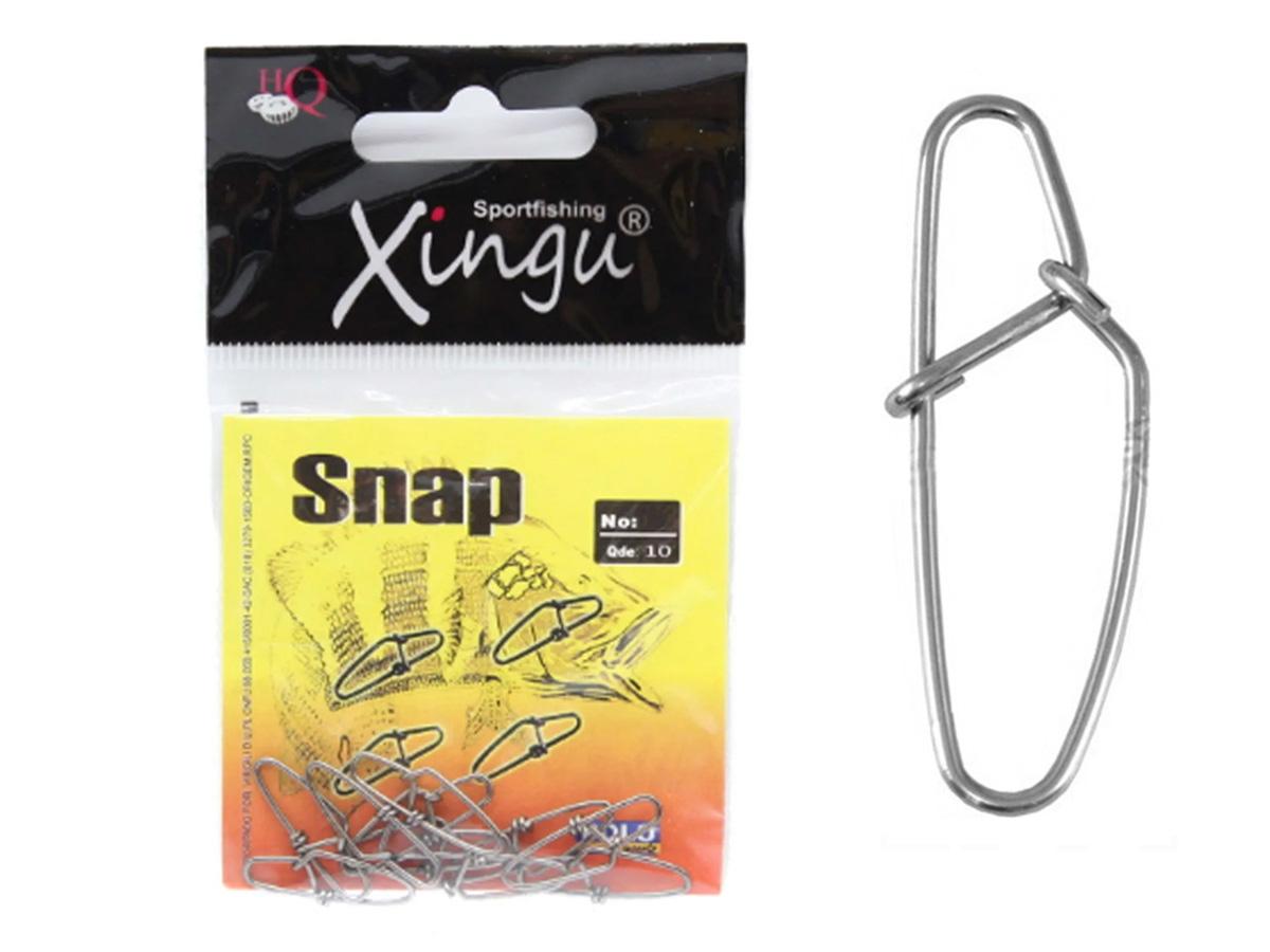 Snap Xingu Aço Inox N 3 - Cartela 10un